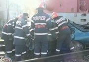 Patru tinere de 21 si 22 de ani din Salaj au murit dupa ce masina in care se aflau a fost spulberata de un tren! Alta fata a ajuns la spital in stare grava!