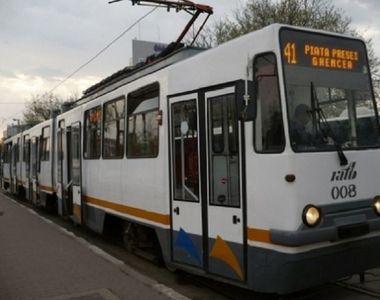 Traseul tramvaiului 41 va suferi modificari! Circulatia va fi oprita timp de doua...