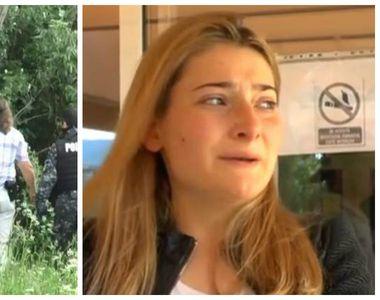 Zeci de politisti si mascati din Neamt il cauta pe barbatul care si-a injunghiat sotia...