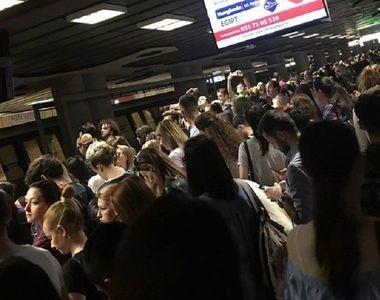 Circulatie ingreunata la metrou pe magistrala Berceni-Pipera din cauza unei urgente...