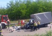 Un nou accident mortal cu romani, pe o autostrada din Ungaria. Doamne, ce tragedie!