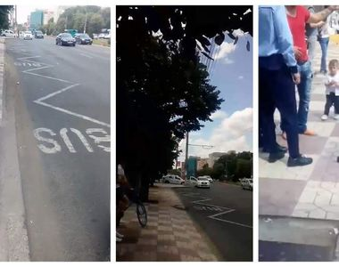 Un taximetrist a plecat cu copilul de 2 ani al unui client. Desi barbatul isi striga...