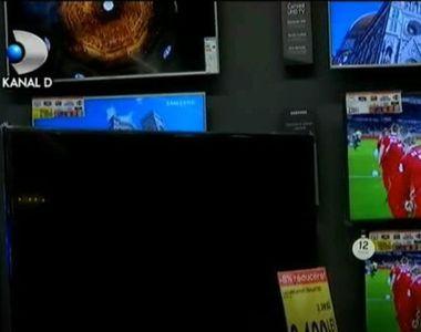 Fotbalul creste vanzarile de televizoare. Ce spun comerciantii