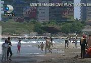Pericol pe litoral! Salvamarii au arborat steagul rosu