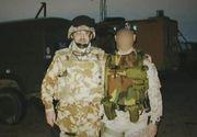 Povestea lui Dorin Petrut, romanul care si-a protejat cu propriul trup un coleg britanic in razboi, in Irak