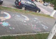 """Scandal in Buzau! Politia Locala a interzis unor copii sa deseneze pe asfalt, in parc! Reactia oficiala a autoritatilor: """"Au fost prea zelosi, ca sa nu folosesc alta expresie!"""""""