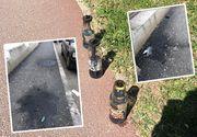 Atac cu cocktailuri Molotov in fata sediului PSD din Timisoara. Mai multe sticle incendiare au explodat in fata sediului partidului in aceasta dimineata