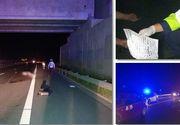 Sinucidere socanta la Timisoara! S-a suit pe pod si s-a aruncat in cap direct pe autostrada!