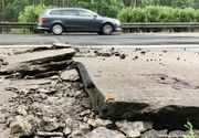 A mai cazut un mit! Gropi gigantice au aparut in autostrazile germane din cauza caldurii din ultima perioada!