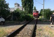 Imagini de cosmar la intrarea in Bistrita! Un barbat de 50 de ani a fost decapitat de tren!