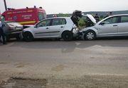 Accident in lant pe Autostrada Soarelui! Traficul este ingreunat dupa ce mai multe masini care circulau pe sensul spre Bucuresti s-au ciocnit!
