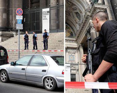 Atac armat in Catedrala din Berlin! Un politist a deschis focul asupra unui barbat...
