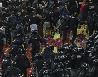 Jandarmeria a luat masuri in urma incidentelor de aseara de la meciul dintre CSA Steaua...