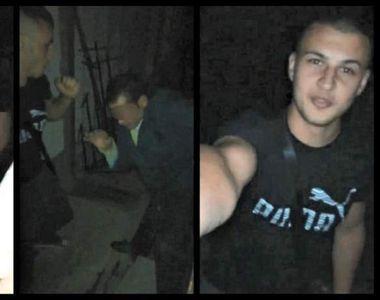 Scene de groaza! S-a filmat in timp ce bate un barbat, apoi a trimis imaginile fostei...