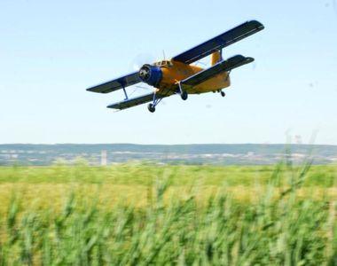 Aproape de o noua tragedie aviatica! Un avion a aterizat fortat pe un camp de langa...