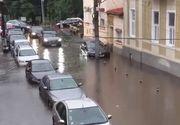 Imaginile dezastrului de la Cluj! O ploaie torentiala de cateva minute a facut prapad in oras. Locuitorii au intrat in panica