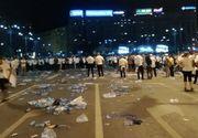 Ce a ramas in urma protestatarilor pesedisti este UMILITOR! Protestatarii #rezist le-au dat clasa