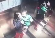 Video socant! I-a facut cu mana mamei, dupa care s-a dezlantuit iadul! Copil de doar un an, batut cu bestialitate de propria bona!