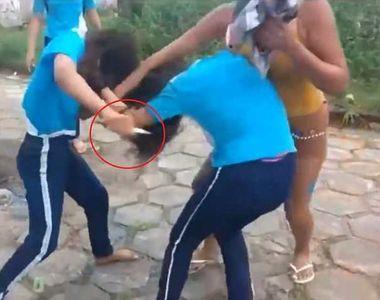 O adolescenta de 14 ani si-a injunghiat o prietena in urma unei altercatii, dupa ce...