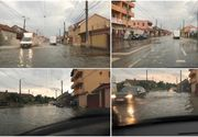 O rupere de nori de cateva minute a facut ravagii in Arad! Zeci de gorspodarii au fost inundate