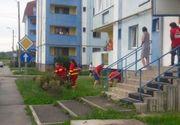 S-a aflat cine este barbatul care s-a aruncat in gol de la etajul doi, in Bistrita. Sotia sa era in casa in momentul tragediei. Ce s-a intamplat