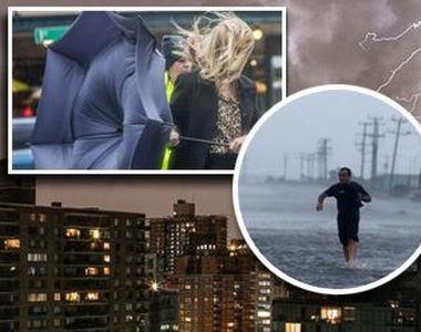 Fenomene meteo periculoase vor lovi Romania! Avertizare de ultima ora emisa de meteorologi
