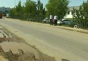 Un drum din cartierul Militari arata deplorabil! Oamenii sunt disperati!