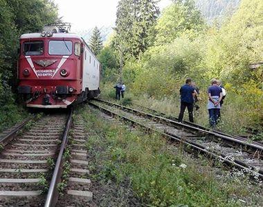 Un tren de calatori a deraiat intre Resita si Timisoara, in urma furtunii puternice!
