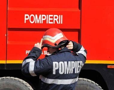 Doi copii blocati intr-un tomberton, au fost salvati de pompierii din Resita. Cum au...