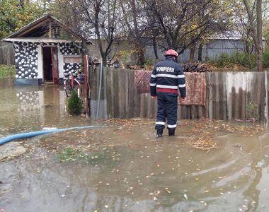 Furtuna a facut ravagii! Sute de gospodarii au fost distruse in Alba in urma ploilor...