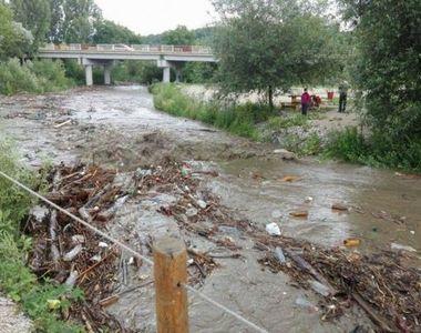 Prapad in urma ploilor! Sute de case au fost inundate intr-o localitate din Apuseni!