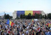 Zeci de mii de oameni au protestat aseara in fata Guvernului!
