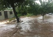 Panica intr-o comuna din Galati, dupa ce sambata trecuta ploaia a facut prapad