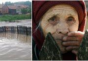 O femeie din Botosani a murit din cauza ploilor torentiale! Tavanul casei s-a prabusit peste ea