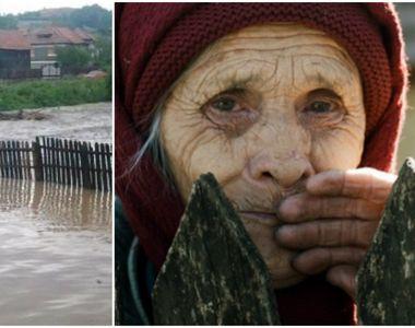 O femeie din Botosani a murit din cauza ploilor torentiale! Tavanul casei s-a prabusit...
