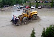 Inundatii la Manastirea Barsana! A fost nevoie de interventia buldozerelor pentru a evacua lumea!