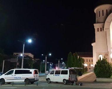 Alerta cu bomba in Catedrala Noua din Arad! Fortele de ordine au avut parte de o noapte...