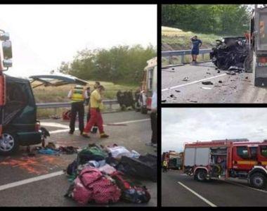 In urma celor 9 morti in accidentul de microbuz din Ungaria, au ramas 139 de rude...