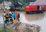 Inundatiile au facut prapad in Sibiu! A fost activat codul rosu de interventii!