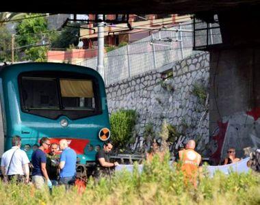 Inca o tragedie in Italia! Florin, un roman de doar 18 ani, a fost spulberat de un tren!