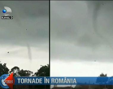 Specialistii avertizeaza! Tornadele, un fenomen rar in Romania, tot mai frecvente in...