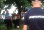 Video! Un barbat din Focsani a lovit cu toporul o fata de 17 ani, dupa ce l-a atacat pe tatal adolescentei