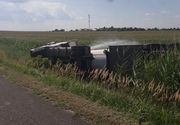 Autostrada Soarelui este blocata! O cisterna cu kerosen s-a rasturnat la Drajna