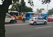 Accident grav in Bucuresti! Sase masini implicate. Soferul vinovat era urmarit de Politie