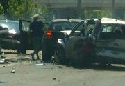 EL este soferul care a lovit vineri cinci masini in Bucuresti! A fost dat in consemn la frontiera!