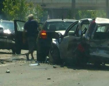 EL este soferul care a lovit vineri cinci masini in Bucuresti! A fost dat in consemn la...
