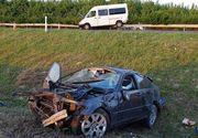 Autostrada blestemata! Inca un microbuz cu pasageri romani implicat intr-un accident in Ungaria!