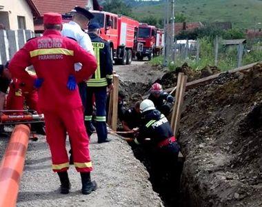 Un muncitor a murit in Salaj dupa ce s-a prabusit un mal de pamant peste el!