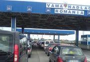 Se intorc romanii in tara! Traficul la vamile din vestul tarii a crescut cu 70% in ultimele 48 de ore!