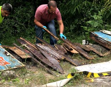 Descoperire macabra pe un drum din Gorj! Angajatii de la salubrizarea  au ramas socati:...